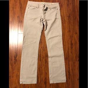 Gap low rise khaki jeans